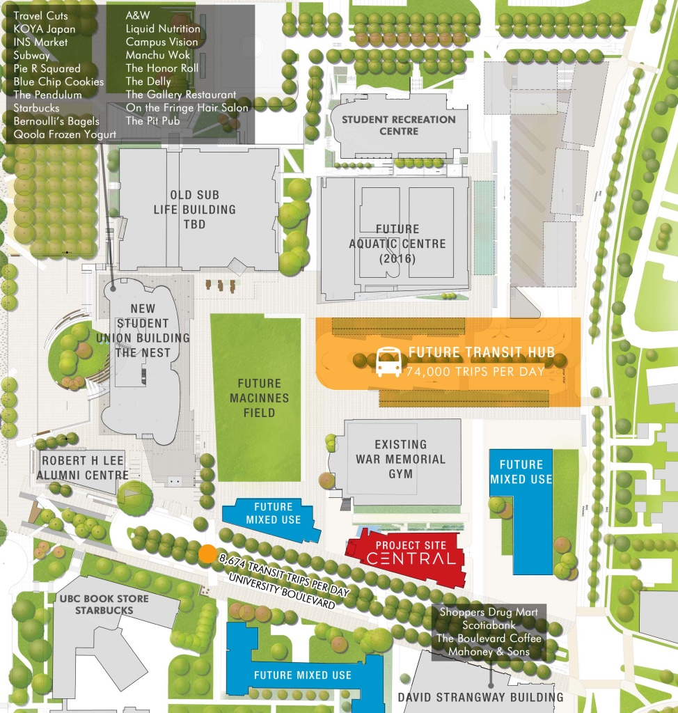 Sauder school of business map - Here Are Some More Renderings For Central